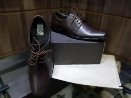 Sapato social em couro legítimo frete grátis