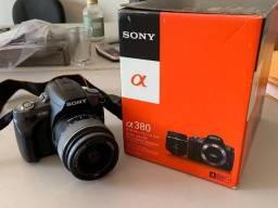 Câmera Sony Dslr A 380 - Praticamente Zero