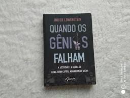 """Livro """"Quando os gênios Falham"""""""