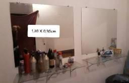 Jogo de espelhos de 1.20 X 0.90cm. R 250,00 cada