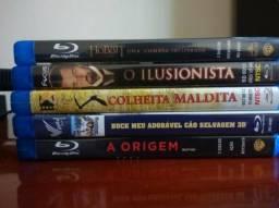 Kit com 5 Blu-ray's