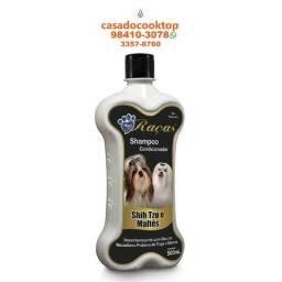 Shampoo E Condicionador World Raças Para Cães Lulu Pomerania Shih Tzu/Maltês 500ML