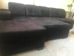 Sofá de 5 lugares + Puff