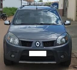 Renault Sandero Stepway 1.6 16v/ABS/Air Bag/Ar condicionado/Vidros elétricos/Bancos couro - 2010