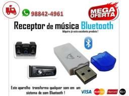 Bluetooth Receptor de música USB