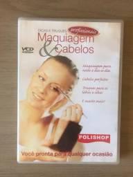 DVD maquiagem e penteados