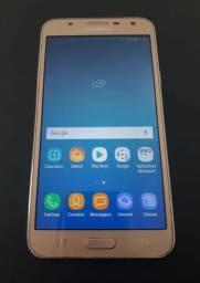 Samsung Galaxy J7 Neo 16GB, Tela 5.5 13MP Dual Chip Android 8.1 - Dourado