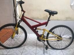 Bicicleta aro16 21marcha c/amortecedor