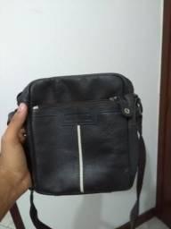 Bolsa couro Bagaggio/tiracolo