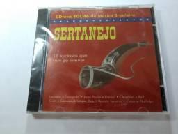Cd Cdteca Folha Da Música Brasileira: Sertanejo