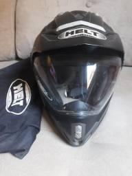 Capacete Helt-Helmet Preto
