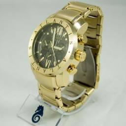 Relógio Atlantis Original Modelo Bvlgari Luxo (79 9 9818-1901) (Loja Rei Imports)