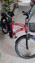 Bicicleta elétrica dafra vex