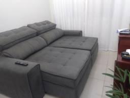 Sofá Retrátil Reclinável Semi-Novo