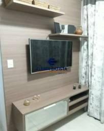 Apartamento à venda com 2 dormitórios em Villaggio manguinhos amalfi, Serra cod:AP00107