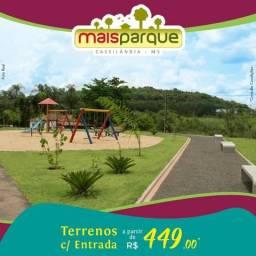Terreno Mais Parque Cassilândia Direto c/ a Loteadora
