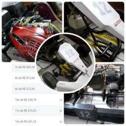 Kart Mini Cadete motor Honda 5,5 hp + Acessórios comprar usado  Joinville