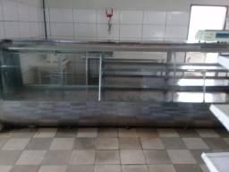 Balcão refrigerado para açougue