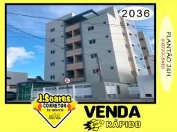 Apartamento 1 Quarto para Venda em João Pessoa, Jardim Cidade Universitária, 1 dormitório,