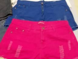 Shorts seminovos