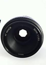 Lente Nikon 50mm AF 1.8D