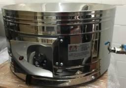 Fogão Fritadeira Para Pastel Balcão Inox Food truck/Tacho /Pasteleiro
