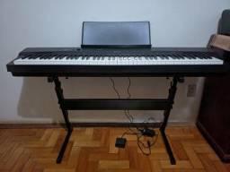 Vendo Piano Digital CASIO PX160+Pedal sustain+Suporte