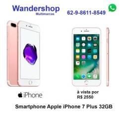 IPhone 7 plus 32 novo Lacrado 1 ano de Garantia Apple