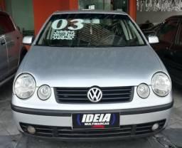 Vw Volkswagen polo sedan 1.6 8v completo - 2003