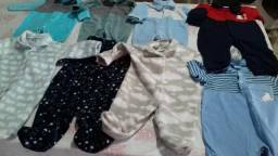 Lote roupas bebê menino