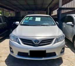 Toyota Corolla XEI 2.0 Automático CVT Prata Top de linha - 2012