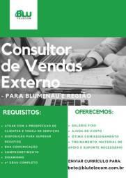 Consultor de Vendas Externo