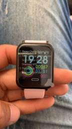 Relógio Smartwatch R16 Rosa
