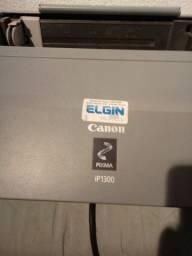 IMpressora Canon Pixma iP1300, com cabo usb e fonte 110v funcionando (sem cartuchos)