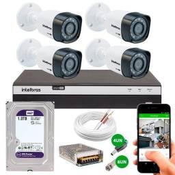 Câmeras, cerca elétrica, redes em geral