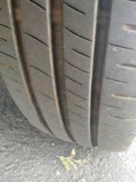 4 pneus aro 14 semi-novo troco por jogo banco confortline