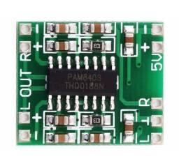 Módulo de som amplificador estéreo 2ch 3w+3w