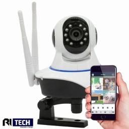 Câmera Robo Ip 2 ou 3 Antenas 720p Hd Wireless Wifi