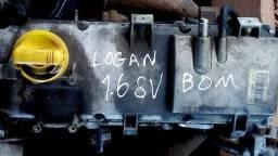 Motor Logan 1.6 8V Parcial Top