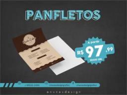 Título do anúncio: Panfletos - 2500 un. - R$ 159,99