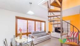 Apartamento à venda com 2 dormitórios em Menino deus, Porto alegre cod:VOB3194