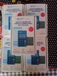 Máquina de passar cartão do mercado pago Point MINI NFC por aproximação<br><br>