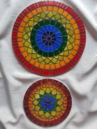 Mandalas no mosaico