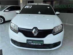 Título do anúncio: Renault Logan 2019 1.0 12v sce flex expression avantage manual