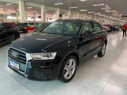 Audi Q3 1.4 Tfsi Flex S-tronic 2018 Automática Baixo Km !! Banco Caramelo Impecável