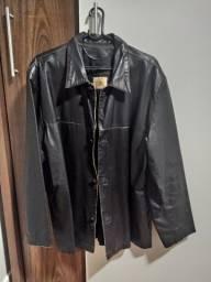 Título do anúncio: Vendo Jaqueta de couro masculina