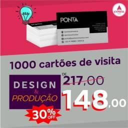 Título do anúncio: Cartões de Visita - Design e Produção