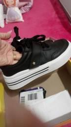 *sapato novo*