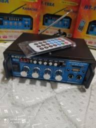 Amplificador Mini de som