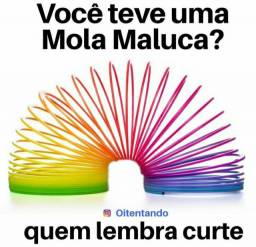 Brinquedo MOLA MÁGICA MALUCA